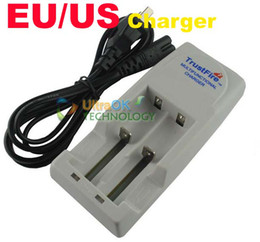 TrustFire TR001 Lithium Battery Charger for 10440 14500 16340 17670 18500 18650 EU US Plug