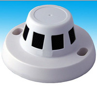 Wholesale CCTV Smoke Detector CCD or CMOS OTVL Color Camera SECURITY CCTV CAMERA