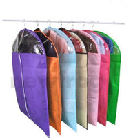 Wholesale Breathable Suit Dress Cover Garment Travel Closet Storage Bag Protector