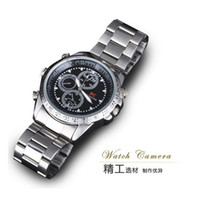 Wholesale 4GB Mini Spy Watch Video Recorder Hidden Camera DVR HD Waterproof Camcorder