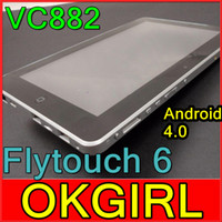 Wholesale 10 quot tablet pc flytouch vc882 Android GB GB GB V10 GPS HDMI Superpad