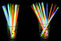 Wholesale 200pcs Mix Color Night Light Flash Glow Stick Bracelet Party Decoration Sport Fans Cheering Item