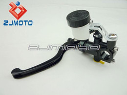 Wholesale ZJMOTO Motorcycle RCS Forged Clutch Master Cylinder With hydraulic Clutches or Rear brake And Adj