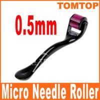 Wholesale 0 mm Needles Derma Micro Needle Skin Roller Dermatology Therapy Microneedle Dermaroller H8362