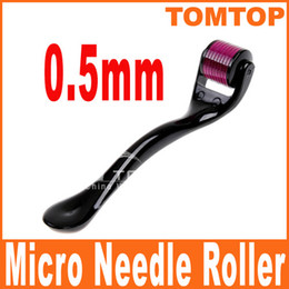 Wholesale 0 mm Needles Derma Micro Needle Skin Roller Dermatology Therapy Microneedle Dermaroller H8362