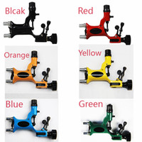 Wholesale Pop Dragonfly Rotary Tattoo Machine Gun Colors Available Professional Tattoo Kits Supply Super