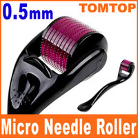 Wholesale 0 mm Derma Micro Needle Skin Roller Dermatology Therapy system Microneedle Dermaroller H8362