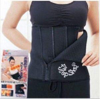 Wholesale Waist Slimming Belt Adjustable Girdle Body Shaper Tummy Tucking Fat Slim Shaping Steps black color