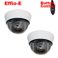Wholesale SONY Effio TVL Exview CCD IR Dome CCTV Indoor Security Camera Night Vision varifocal lens mm