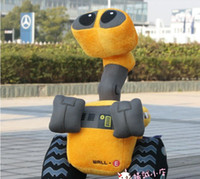 Wholesale sample order Brand new WALL E PLUSH TOY Robot cm Popular Movie Plush kids Toys Newest Christmas GIFT