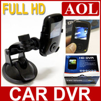 Wholesale 10pcs HD Car DVR Vehicle compact camera black box full the HD million pixels and support G