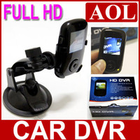 Wholesale 20pcs HD Car DVR Vehicle compact camera black box full the HD million pixels and support G