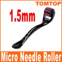 Wholesale 1 mm Needles Derma Micro Needle Skin Roller Dermatology Therapy Microneedle Dermaroller H8364
