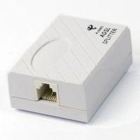 Wholesale Telephone RJ11 Line ADSL Modem Micro Filter Splitter