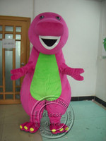 Wholesale Barney And Friends Character Mascot Costumes Halloween Costume Cartoon Suit Fancy Dress Outfit Adult