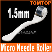 Wholesale White mm Needles Derma Micro Needle Skin Roller Dermatology Therapy Microneedle Dermaroller H8367