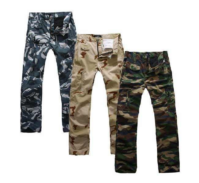 Camo Cargo Pants For Men Slim Men Army Cargo Camo Combat