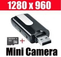 Wholesale HD x960 Mini USB Flash Drive Spy Camera Hidden DVR GB
