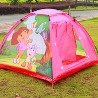 Wholesale Children Game Portable Tent Popup Folding Outdoor Tent Beach Tent Game House Waterproof