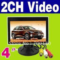 Wholesale FREESHIPPING New quot TFT LCD Color Camera DVD VCR CCTV Car Monitor O
