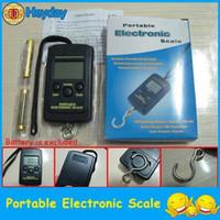 Digital scale 40kg/10g  hot handy digital pocket scale electronic vendor weight hanging fishing hook scale 40kg 10g capacity