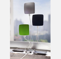 Wholesale Window Solar Charger Sticks to the inside of a window to soak up the sun Portable chargers XD design