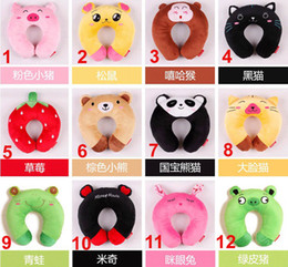 Wholesale Embroidery Children neck kids neck Guard rug infant pillows baby plush toy
