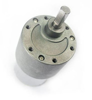 Wholesale 12V RPM Torque Gear Box DC Motor for Drive Control NEW BRAND Freeshipping