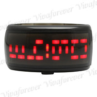 Wholesale Cute Bracelet Watch Unisex Jelly Type With Digital LED Display Four Colors In Stock