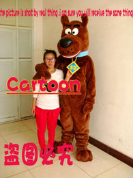 Wholesale New Scooby Doo Mascot Costume Fancy Dress factory direct