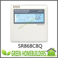 Wholesale 5sensors input relay outputs SR868C8Q solar water heater controller for split solar water heaters