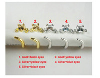 Wholesale Hot Sale Adjustable Cat Ring Animal Fashion Ring