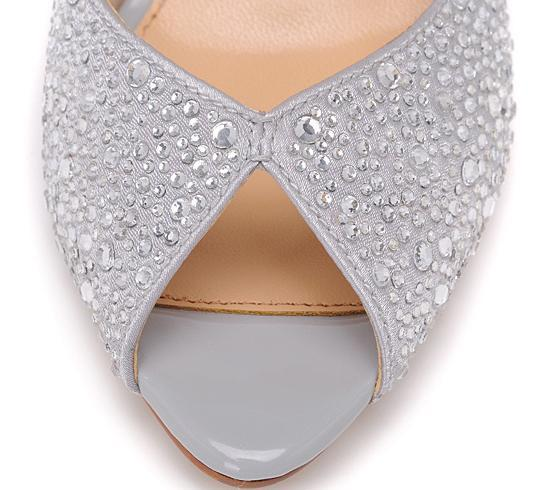 Wedding Dresses and Accessories | Gorgy01 Silver Classic Wedge