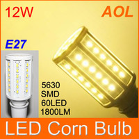 Wholesale High Quality W E27 LED SMD LM LED Corn Bulb White Warm White V Corn Light Bulb