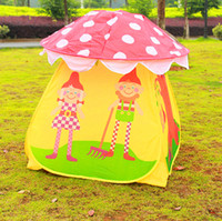 free shipping   Children tents baby beach tents outdoor tent Portable Kids Boys Girls Toy Mushroom Tent Play House