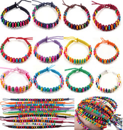 20pcs Fashion New 12colors Wholesale Lots Beads Braid Handmade Fashion Friendship Bracelets Women CHarm Jewelry [B606M*20]