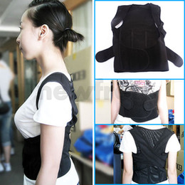 Wholesale New Back Shoulder Support Brace Posture Corrector Belt Relax Beauty Body Belt