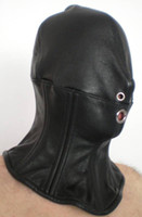Wholesale Japanese Style Leather Hood with Neck Corset SM ML