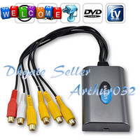 Wholesale Video Audio Channels Super HD USB DVR Video Capture Surveillance Card