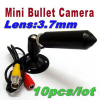 Wholesale 10 pieces Mini Color CCTV Security Surveillance Bullet Pinhole Camera