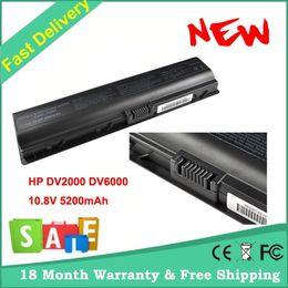 Reemplazo de la batería del ordenador portátil para HP Compaq Pavilion DV6000 DV2000 Presario V3000 HSTNN-W34 HSTNN-W20C