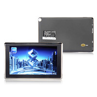 Wholesale 7 inch GPS navigation Apical SiRF Atlas V Dual core CPU WIN CE MHz DDR M G memory gps