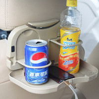 Wholesale Car drink tray car frame with water car cupholder dinner plate rear drink tray