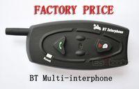 Wholesale 500M Bluetooth motorcycle helmet intercom two ways hand free For Motorcy