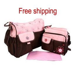 Wholesale Hot sale Diaper Bag large small bag Mummy Mommy Mother Nursery Mama bags set