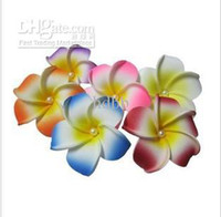 EVA Party other Wholesale - free shipping hair accessories Hawaiian plumeria hairpin side chuck flower pearl heart