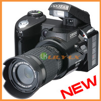 Wholesale 2012 latest HD digital camera video camera D3000 X Optical inch LCD Dual mode power supply