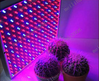 Wholesale 8pcs G58 W LED Grow Light Panel Stimulate Lamp Hydroponic Plant Lamp Blue Red V
