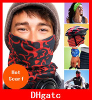 Jacquard sunscreen - Fashion Multifunctional scarf Outdoor Seamless bandana Magic multifunctional Turban Sunscreen Hot