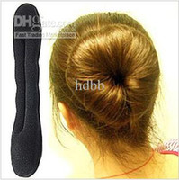 Wholesale Sponge Bun Clip Maker Former Foam Twist Hair Tool Hair Accessory Hair Styling